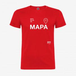 Camiseta No Es Un Mapa Hombre