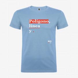 Camiseta Polígono Línea y Punto Hombre