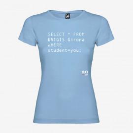 Camiseta SQL Mujer