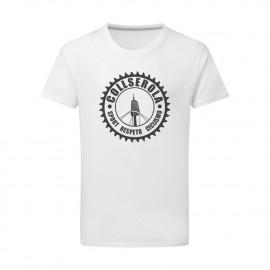 Camiseta Unisex blanca CSRC