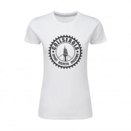 Camiseta Mujer Blanca CSRC