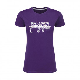 Camiseta Mujer Lila Trail Center Barcelona