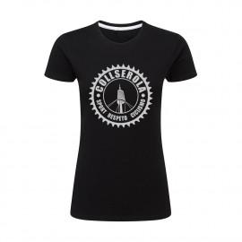 Camiseta Mujer Negra CSRC