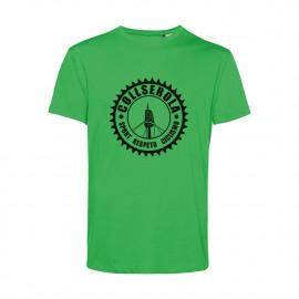Camiseta Orgánica Unisex Verde CSRC