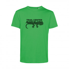 Camiseta Orgánica Unisex Verde Trail Center Barcelona
