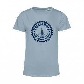 Camiseta Orgánica Mujer Azul CSRC