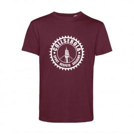 Camiseta Orgánica Unisex Granate CSRC
