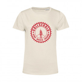 Camiseta Orgánica Mujer Off White CSRC