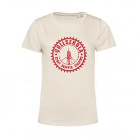 Camiseta Orgánica Mujer Off White CSRC