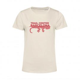 Camiseta Orgánica Mujer Off White Trail Center Barcelona